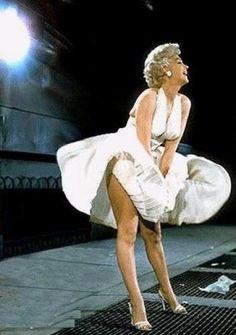 Marilyn Monroe  Seven Year Itch photoshoot