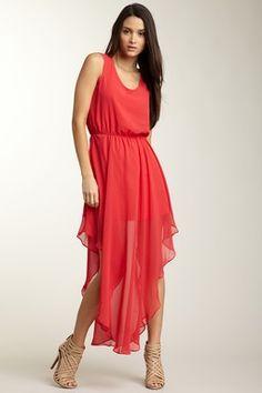 Bonnie Chiffon V-Hem Dress #HLSummer LOVE LOVE LOVE this!!!!