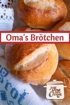 German Bread Rolls aka Brötchen are the BEST thing next to sliced bread! Check out http://www.quick-german-recipes.com/bread-rolls-recipe.html