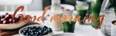 Good morning by Tuulia Smoothie Recipes, Smoothies, Wild Blueberries, Blueberry Cheesecake, Great Desserts, Gluten Free, Menu, Place Card Holders, Table Decorations