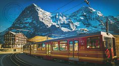 Jungfraujoch - Top of Europe - Switzerland - Beautiful World, Beautiful Places, Countryside Fashion, Jungfraujoch, Visit Switzerland, Swiss Alps, Trains, Places Around The World, Natural Wonders