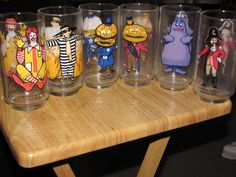 orginal happy meal characters | Shrek Forever After 3D Drinking Glasses At Mc Donald's Now Being ...