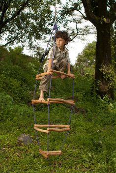 DIY Tutorial Wooden Monkey Bars climber play by Wiwiurka on Etsy $15 for the plans