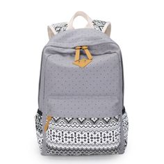 Korean Canvas Printing Backpack Women School Bags for Teenage Girls Cute  Bookbags Vintage Laptop Backpacks Female-in Backpacks from Luggage & Bags on Aliexpress.com | Alibaba Group