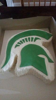 Michigan State cake