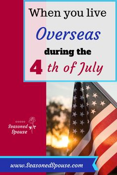 Celebrating the American flag and the of July when living overseas, and what the flag represents to military families stationed overseas. Military Units, Military Spouse, Military Personnel, Military Veterans, Military Life, American Flag Meaning, Religious Tolerance, Moving Overseas
