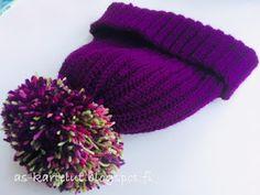 AS-kartelut: Virkkaa hittipipo Knitted Hats, Winter Hats, Knitting, Crochet, Crafts, Tips, Jewelry, Manualidades, Jewlery