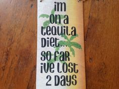 Funny bar sign dock decktiki tropical beach by KerriArt on Etsy, $9.99