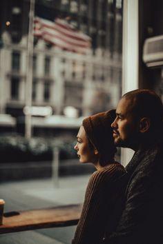 Ruslan&Julia New York Engagement Shoots, Engagement Photography, Wedding Engagement, Fashion Drawing Dresses, Love Store, Couple Shoot, Beautiful People, New York, Black And White