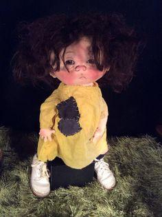 Ruby Sue  one of a kind doll by artist Jan Shackelford