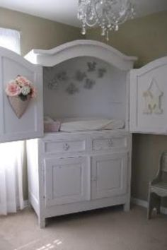 Great idea for changing table and storage
