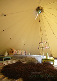 Teepee Tents for Sale | also see our Bell Tent accessories)