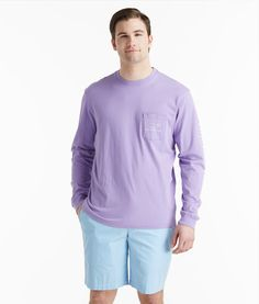 Shop Vineyard Vines Long-Sleeve Vintage Graphic T-Shirt for Men ...