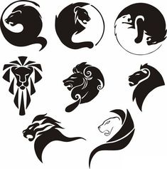 lion icon logo ideas www.cheap-logo-design.co.uk #lionlogo #lionicon #lion