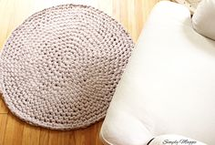 How to Hand Crochet a Large Circular Rug