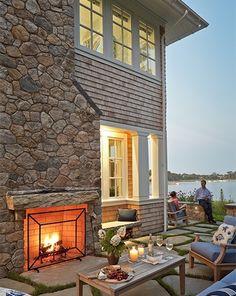 Photos of fine Cape Cod Homes - House on a Salt Pond - Cape Cod Architects