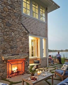 Photos of fine Cape Cod Homes - House on Salt Pond - Cape Cod Architects