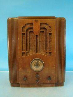 Grunow 660 6C Chassis Antique Tube Radio Deco Tombstone Cabinet Am Shortwave P R | eBay