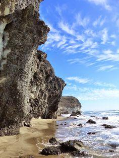 Hiking the Volcanic Coastal Path from San Jose to Playa del Monsul - Beaches of Cabo de Gata #beaches