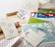 Zum kreativen Gestalten von #Karten: #Schablonen-Set für €9,95 bei #Tchibo