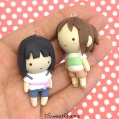 Hello! I'm finished with all my custom orders so here is chibi Haku and Chihiro that I've been wanting to make! I have added these two to my shop as well as some other chibis! Also important notice!!: Starting June 1st all iiSweetCharms regular chibis will be priced at $14.95 now and any custom chibis will be priced at $16.95 but every chibi will still be uniquely handmade with a lot of patience and love!  if you have any custom requests you can pre-order it before June 1st to get it for…