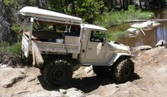 Trail Ready FJ45 Landcruiser