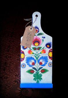 Handmade in Jerutki: Folkowa deska Made by Karolla / wooden art
