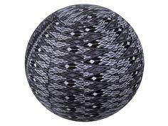 2206 Yoga Ball Cover/Black ikat*