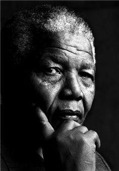 ♂ Black and White Man portrait face of Nelson Mandela! Nelson Mandela, Wal Art, Looks Black, Charles Darwin, Celebrity Portraits, Salvador Dali, Black And White Photography, Black History, Famous People