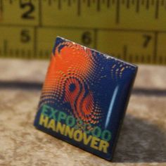 Hannover Germany Expo 2000 Collectible Pinback Pin