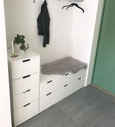 You are in the right place about ikea Bed Room Here we offer you the most beautiful pictures about the Bed Room window you ar Nordli Ikea, Bedroom Storage Ideas For Clothes, Clothes Cabinet Bedroom, Interior Ikea, Ikea Bedroom, Master Bedroom, Storage Bins, Storage Organization, My New Room