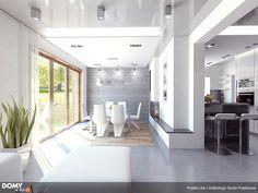 Lilia mały nowoczesny i energooszczędny dom - Jesteśmy AUTOREM - DOMY w Stylu Interior S, Alcove, Bathtub, Bathroom, House, Php, Home Decor, Design, Standing Bath