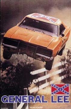 General Lee-Dukes Of Hazzard Poster
