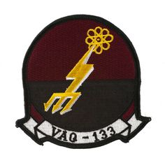 Military Aviation Squadron Patch - VAQ-133