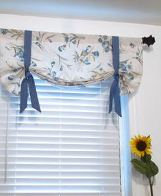 lined tie up valance vintage paris print balloon shades waverly