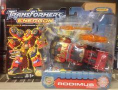 Hasbro Transformers Energon Robots In Disguise: Powerlinx Rodimus Action Figure for sale online Transformers Energon, Hasbro Transformers, Hot Rods, Action Figures, Ebay, Street Rods