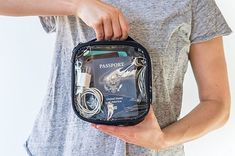 travel essentials 22 Products Thatll Help Make Traveling Easy, Breezy, And Totally Stress-Free Travel Items, Travel Gadgets, Travel Gifts, Travel Hacks, Travel Stuff, Budget Travel, Travel Info, Travel Checklist, Packing Tips For Travel