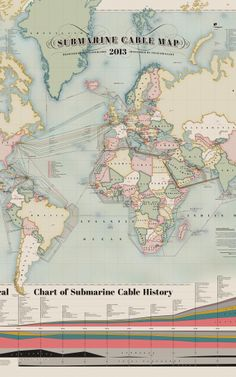Infographic: The 550,000 Miles Of Undersea Cabling That Powers The Internet | Co.Design | business + design