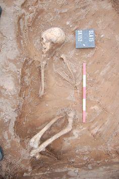 Outside the gates, warwickshire, medieval skeletons