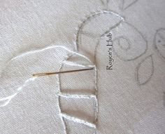 Royce's Hub: Cutwork Embroidery Project : Buttonhole Bar Cutwork Embroidery, Cut Work, Satin Stitch, Royce, Knitting, Sewing, Crochet, Projects, Bar
