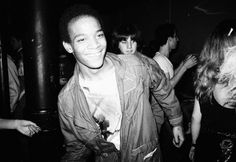 Nicholas Taylor's photograph of bandmate Jean-Michel Basquiat