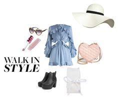 """""""casual lolita"""" by daddy-allahu-akbar ❤ liked on Polyvore featuring Boohoo, Zimmermann, Rebecca Minkoff, Lime Crime and Pilot"""