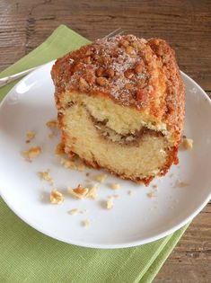 Cinnamon Walnut Coffee Cake a tasty combination for the perfect coffee cake.