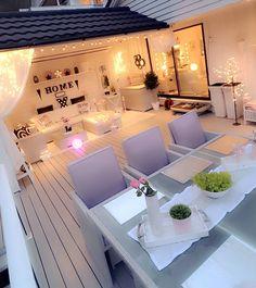 Terrace Design, Garden Landscape Design, Dream Home Design, House Design, Porch Styles, Garden Sofa, Backyard Patio Designs, House Layouts, Home Projects