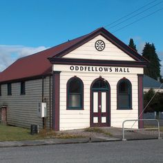 Oddfellows' Hall in Reefton, West Coast
