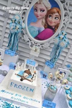 Madisyn's frozen party