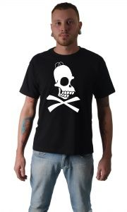 Camiseta Homer Esqueleto