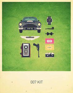 Movies Hipster Kits – Les posters rétro d'Alizée Lafon | Ufunk.net