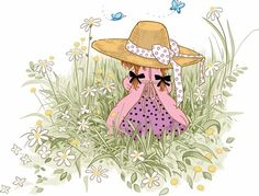 sarah kay - Page 2 Sarah Kay, Holly Hobbie, Mary May, Gif Animé, Whimsical Art, Pretty Pictures, Cute Art, Beautiful Images, Paper Dolls