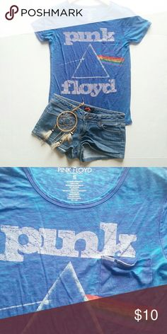 Pink Floyd pocket tee Perfect condition.  No holes or signs of wear. Thin light weight tee, super soft! pink floyd Tops Tees - Short Sleeve